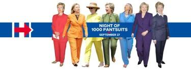 Night of 1000 Pantsuits @ Hudson Terrace   New York   New York   United States