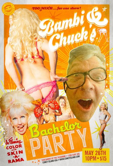 Bambi & Chuck's Bachelor Party @ Sideshows by the Seashore  | New York | United States