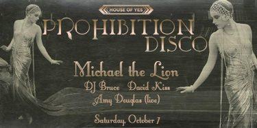 Prohibition Disco @ House of YES | New York | United States