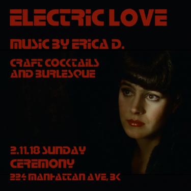 Electric Love: a neo-noir burlesque cocktail party @ Ceremony  | New York | United States